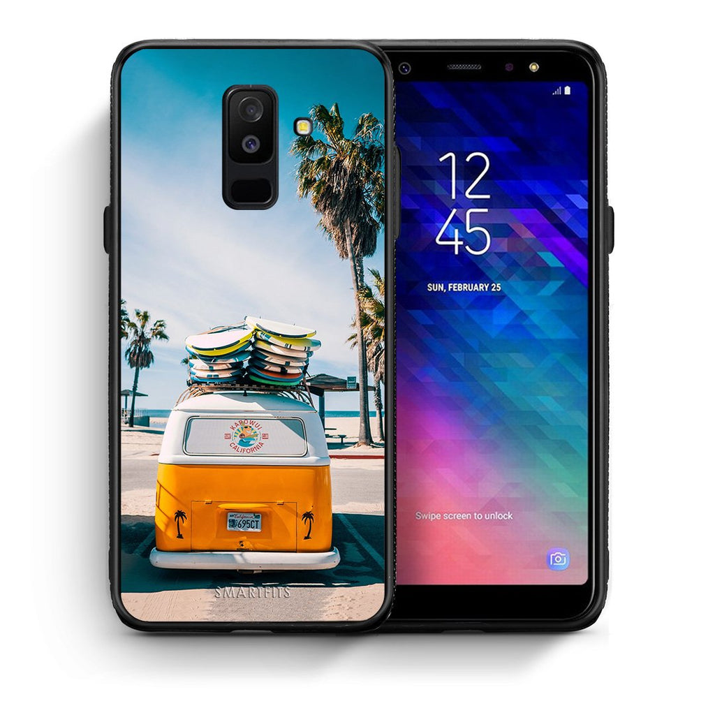 4 - samsung A6 Plus Travel Summer case, cover, bumper