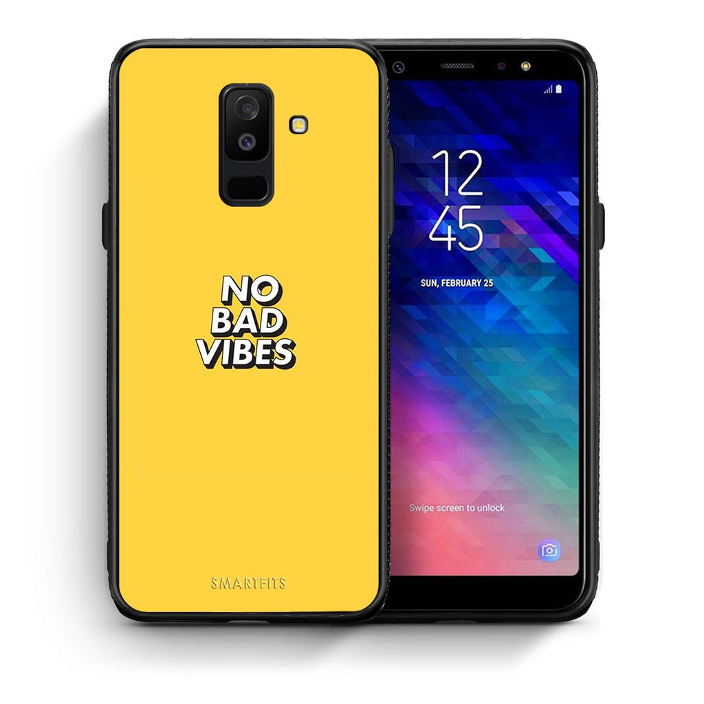 4 - samsung A6 Plus Vibes Text case, cover, bumper
