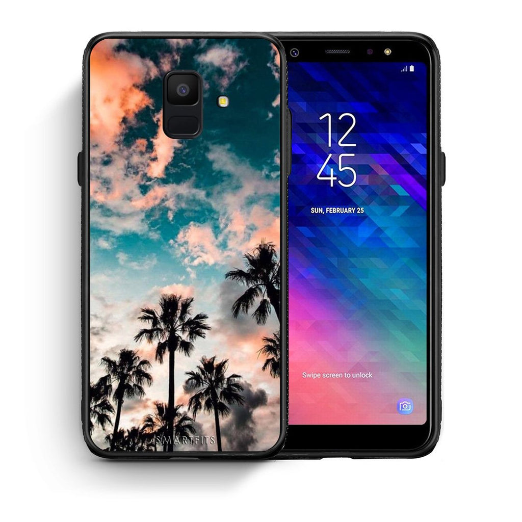 99 - samsung galaxy A6  Summer Sky case, cover, bumper