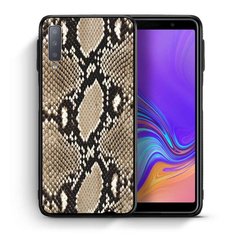 23 - samsung galaxy A7  Fashion Snake Animal case, cover, bumper