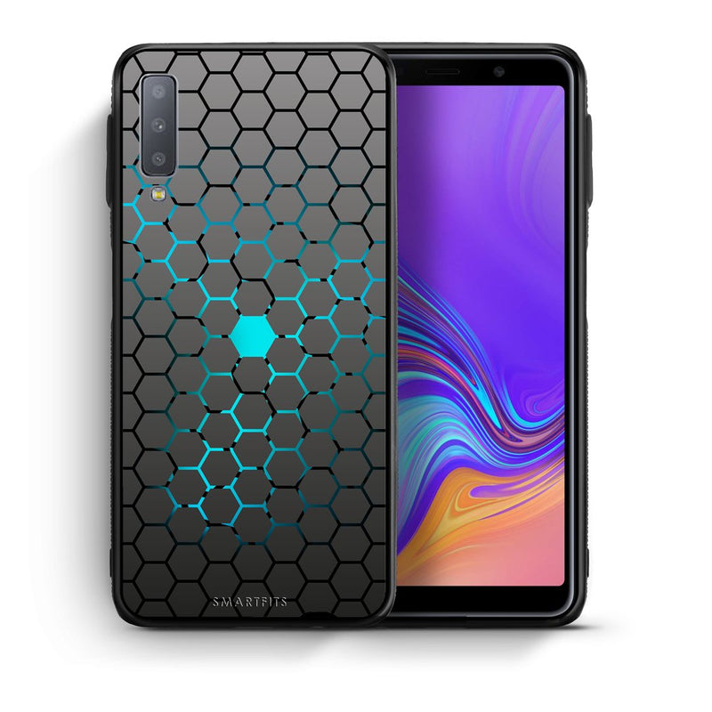 40 - samsung galaxy A7  Hexagonal Geometric case, cover, bumper