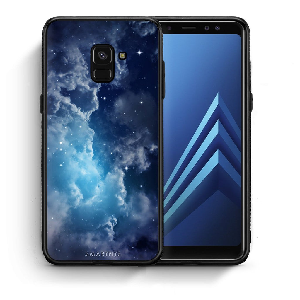 104 - Samsung A8  Blue Sky Galaxy case, cover, bumper
