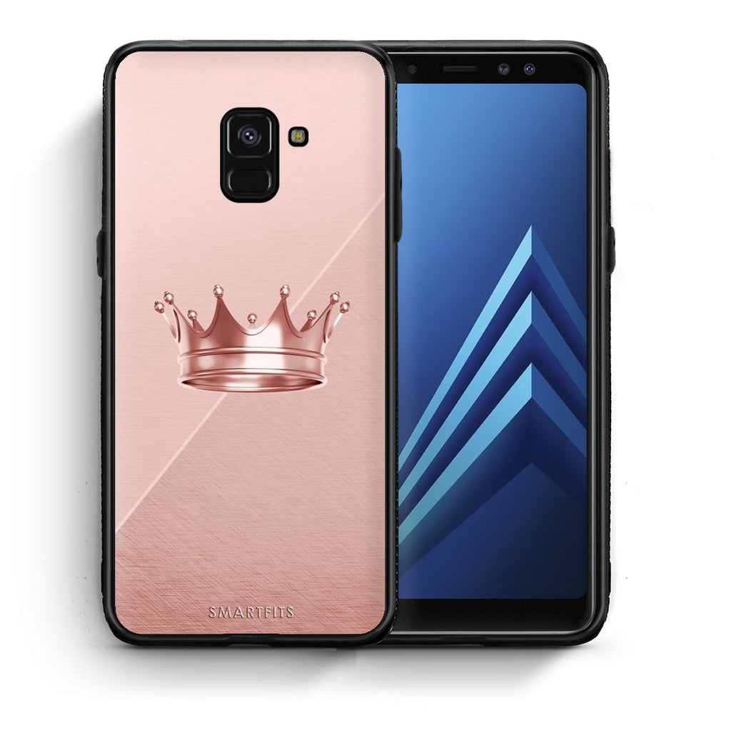 4 - Samsung A8 Crown Minimal case, cover, bumper