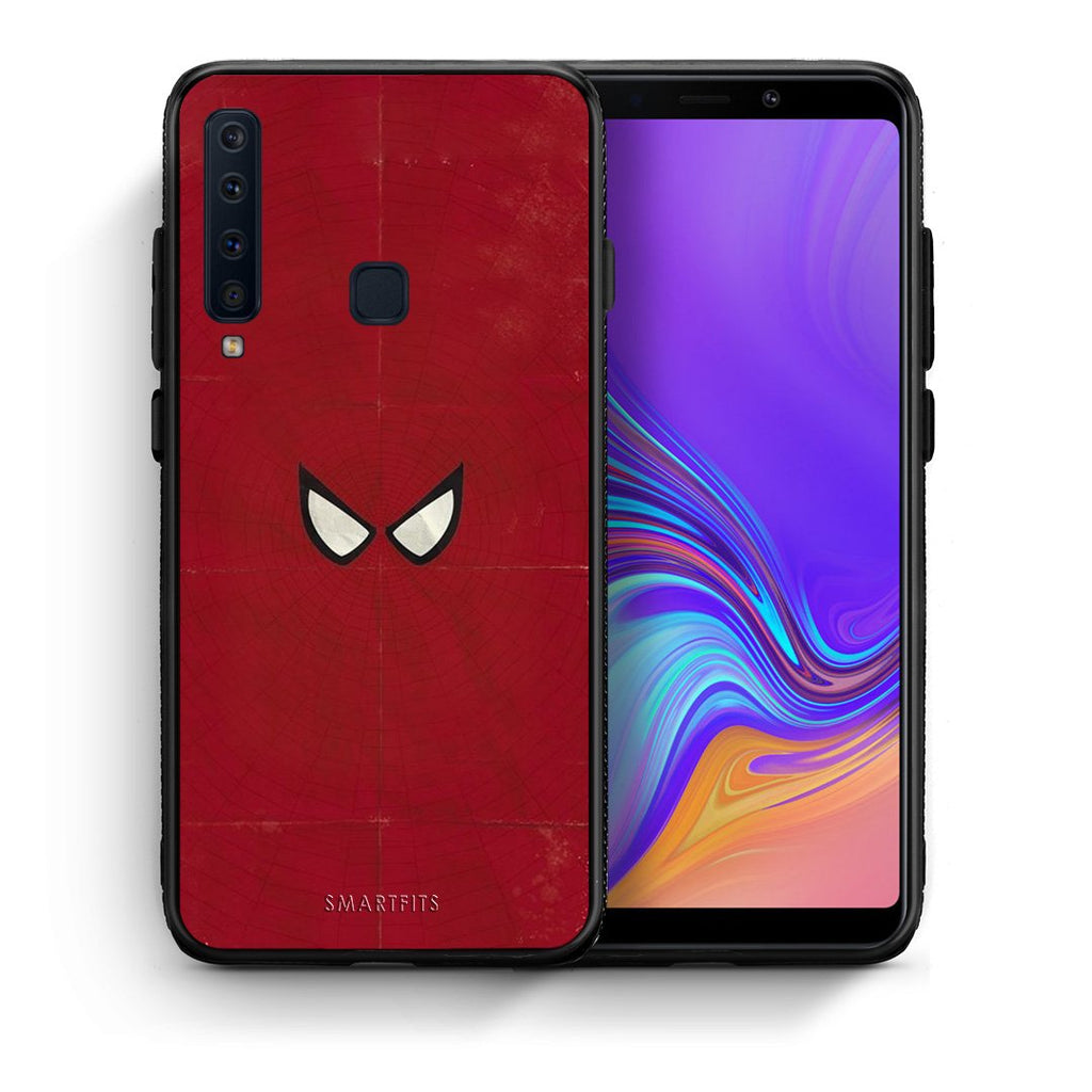 4 - samsung a9 Spider Eyes Hero case, cover, bumper
