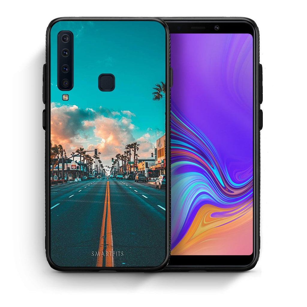 4 - samsung a9 City Landscape case, cover, bumper