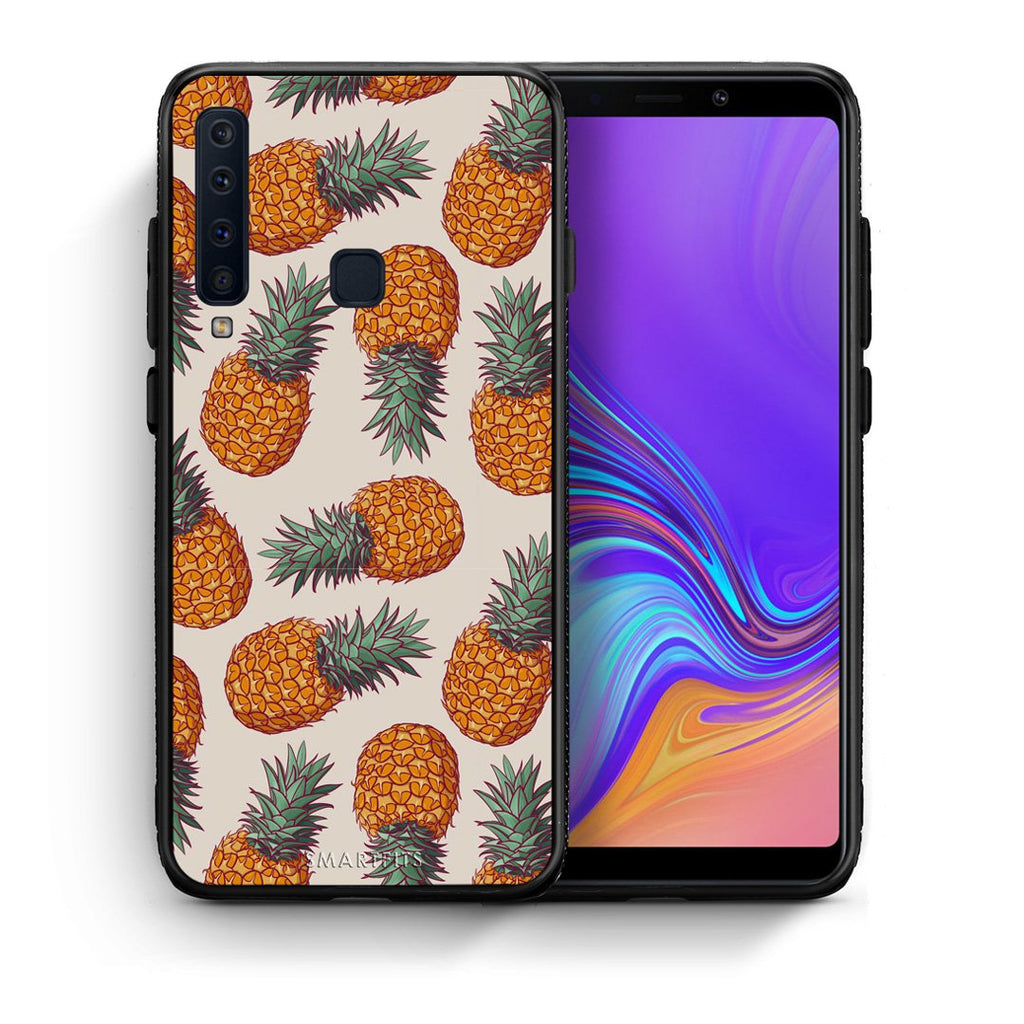 99 - samsung galaxy a9  Summer Real Pineapples case, cover, bumper