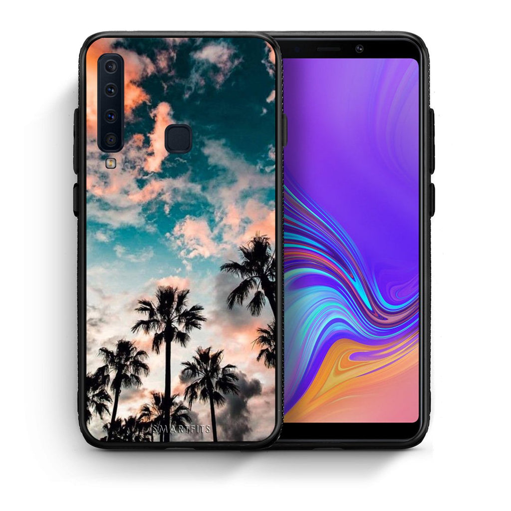 99 - samsung galaxy a9  Summer Sky case, cover, bumper