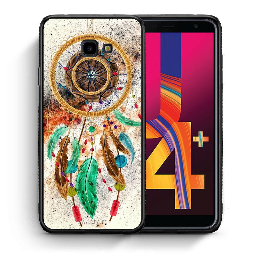 4 - Samsung J4 Plus DreamCatcher Boho case, cover, bumper