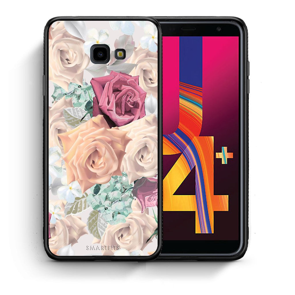99 - Samsung J4 Plus Bouquet Floral case, cover, bumper