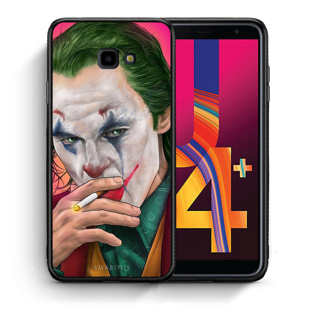 4 - Samsung J4 Plus JokesOnU PopArt case, cover, bumper