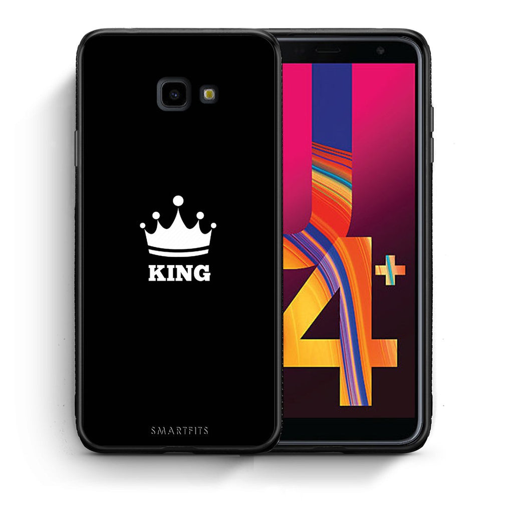 4 - Samsung J4 Plus King Valentine case, cover, bumper