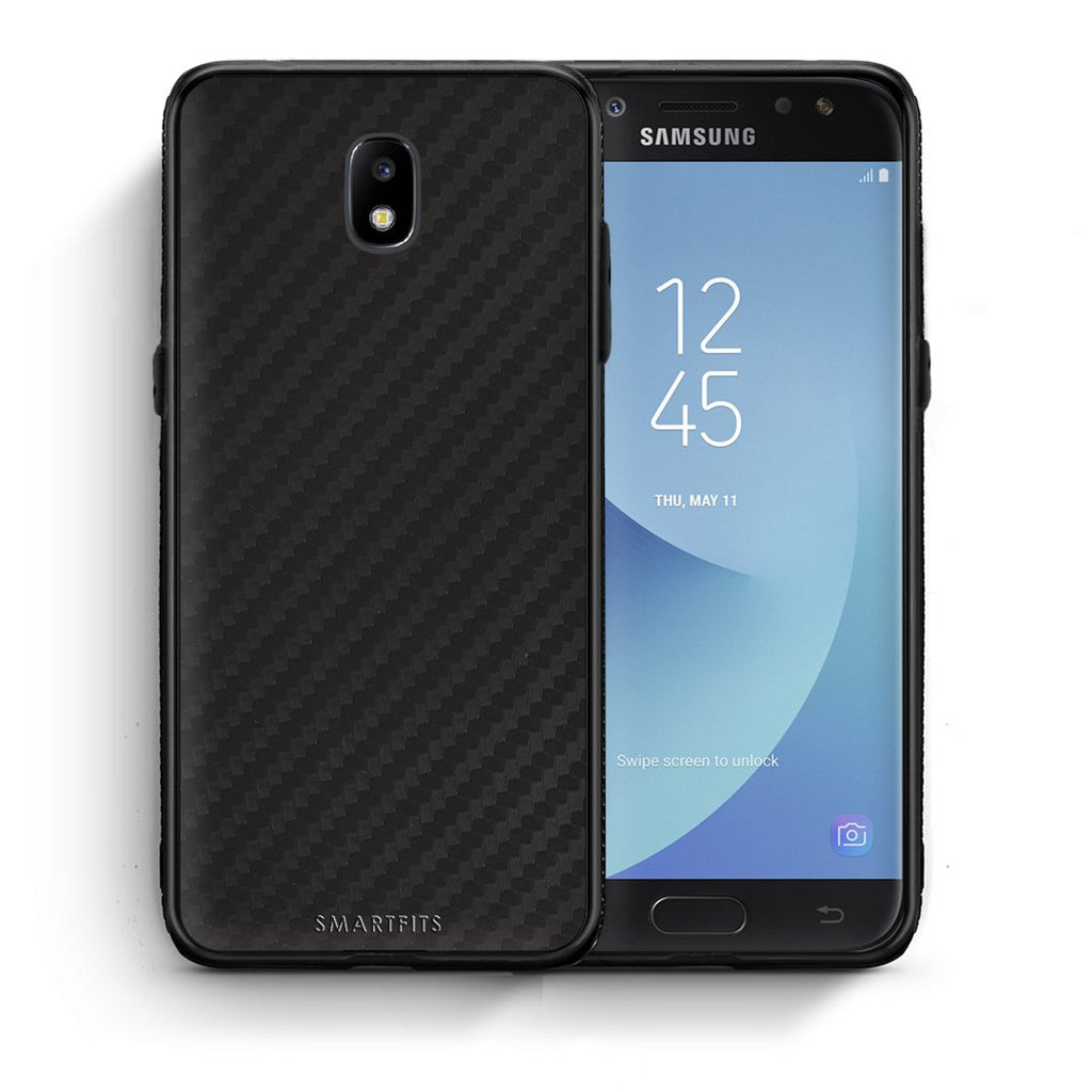 0 - Samsung J7 2017 Black Carbon case, cover, bumper