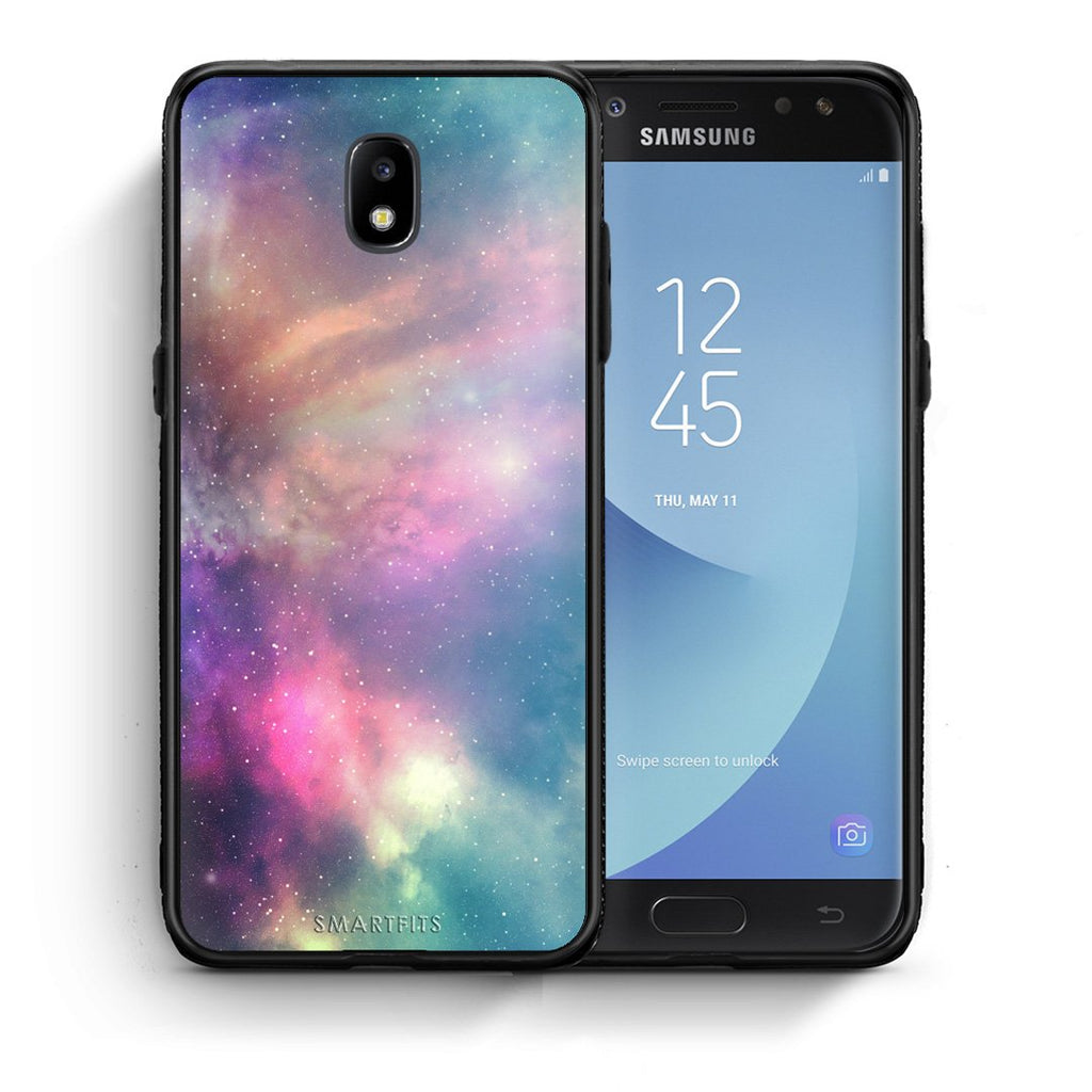 105 - Samsung J7 2017 Rainbow Galaxy case, cover, bumper