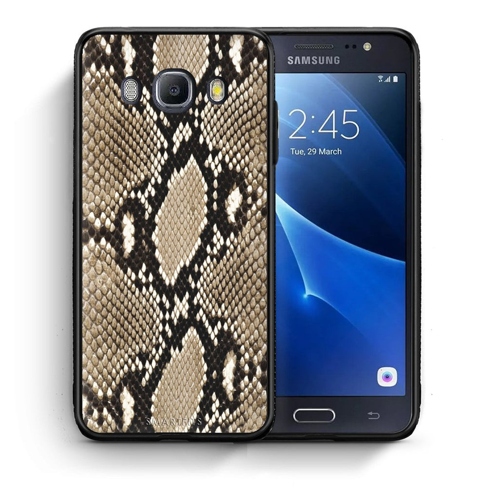 23 - Samsung J7 2016 Fashion Snake Animal case, cover, bumper