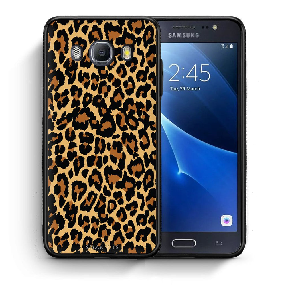21 - Samsung J7 2016 Leopard Animal case, cover, bumper