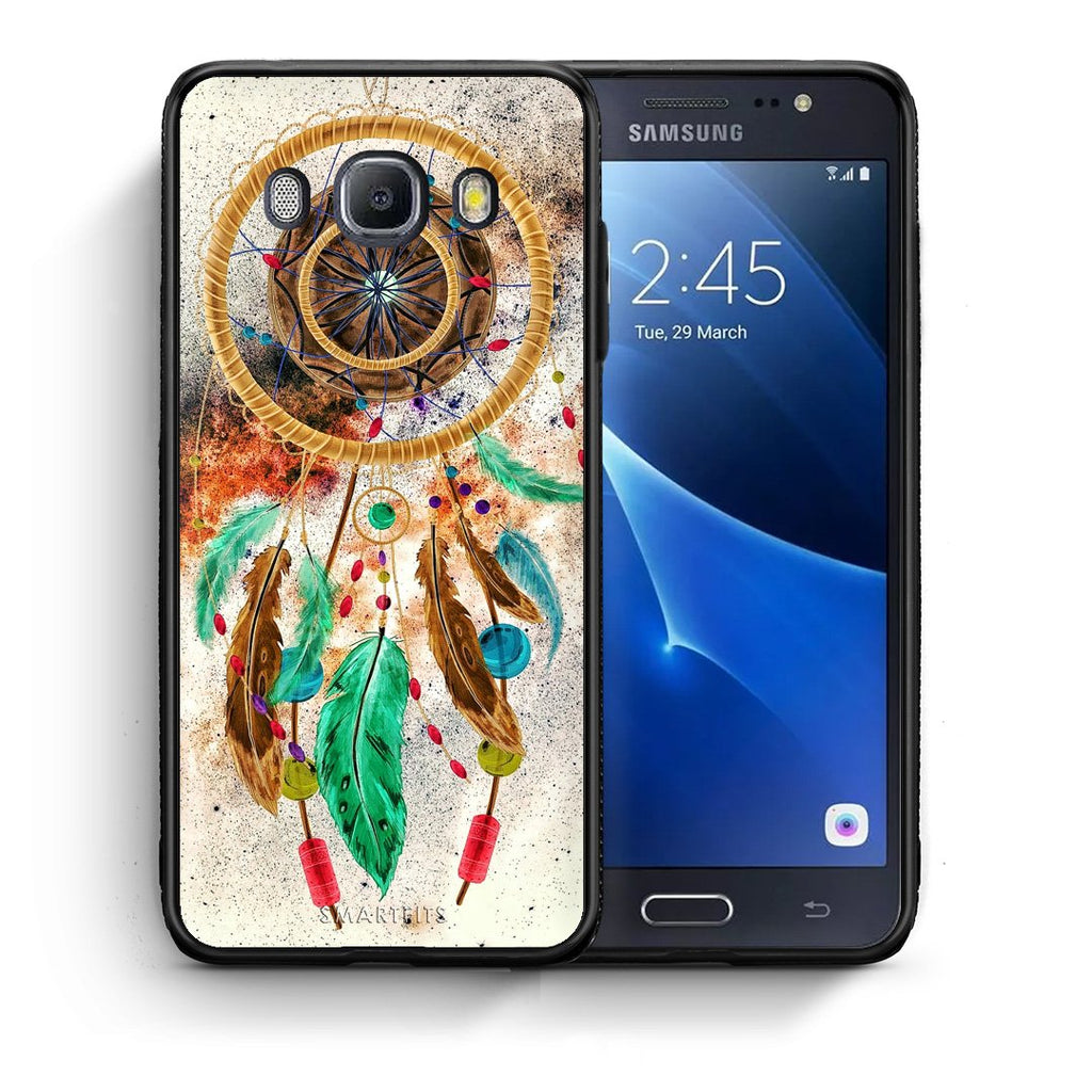 4 - Samsung J7 2016 DreamCatcher Boho case, cover, bumper