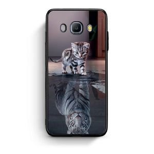 4 - Samsung J7 2016 Tiger Cute case, cover, bumper