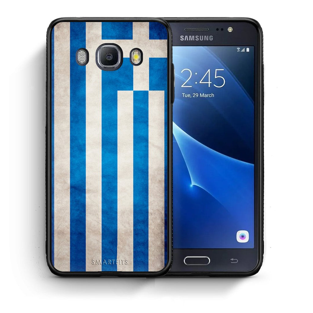 4 - Samsung J7 2016 Greece Flag case, cover, bumper