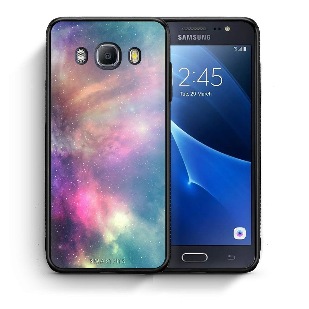 105 - Samsung J7 2016 Rainbow Galaxy case, cover, bumper