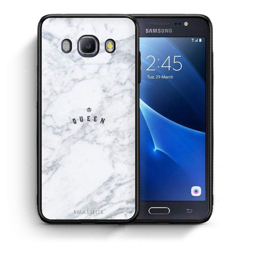 4 - Samsung J7 2016 Queen Marble case, cover, bumper