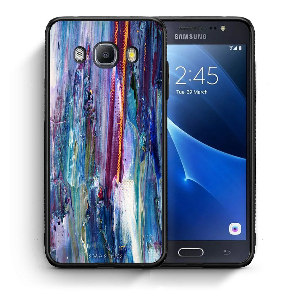 99 - Samsung J7 2016 Paint Winter case, cover, bumper