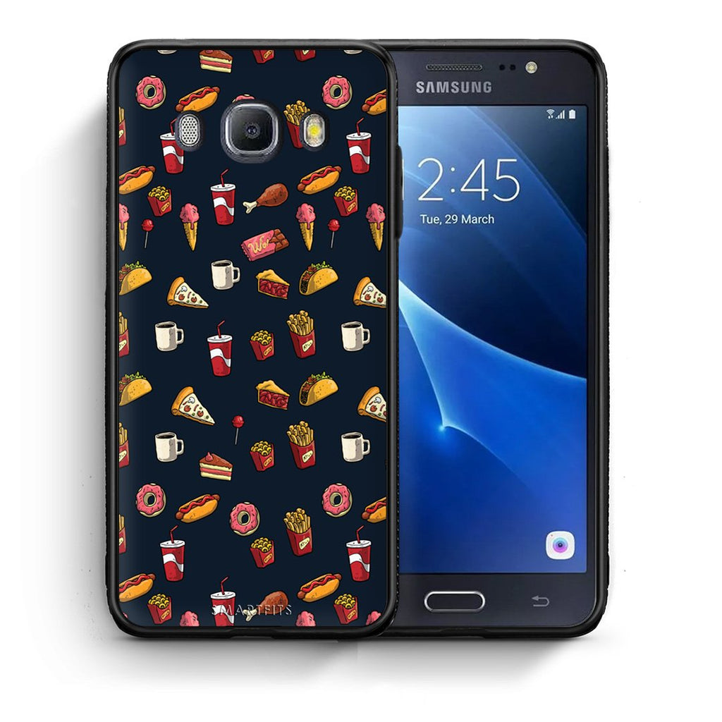 118 - Samsung J7 2016 Hungry Random case, cover, bumper