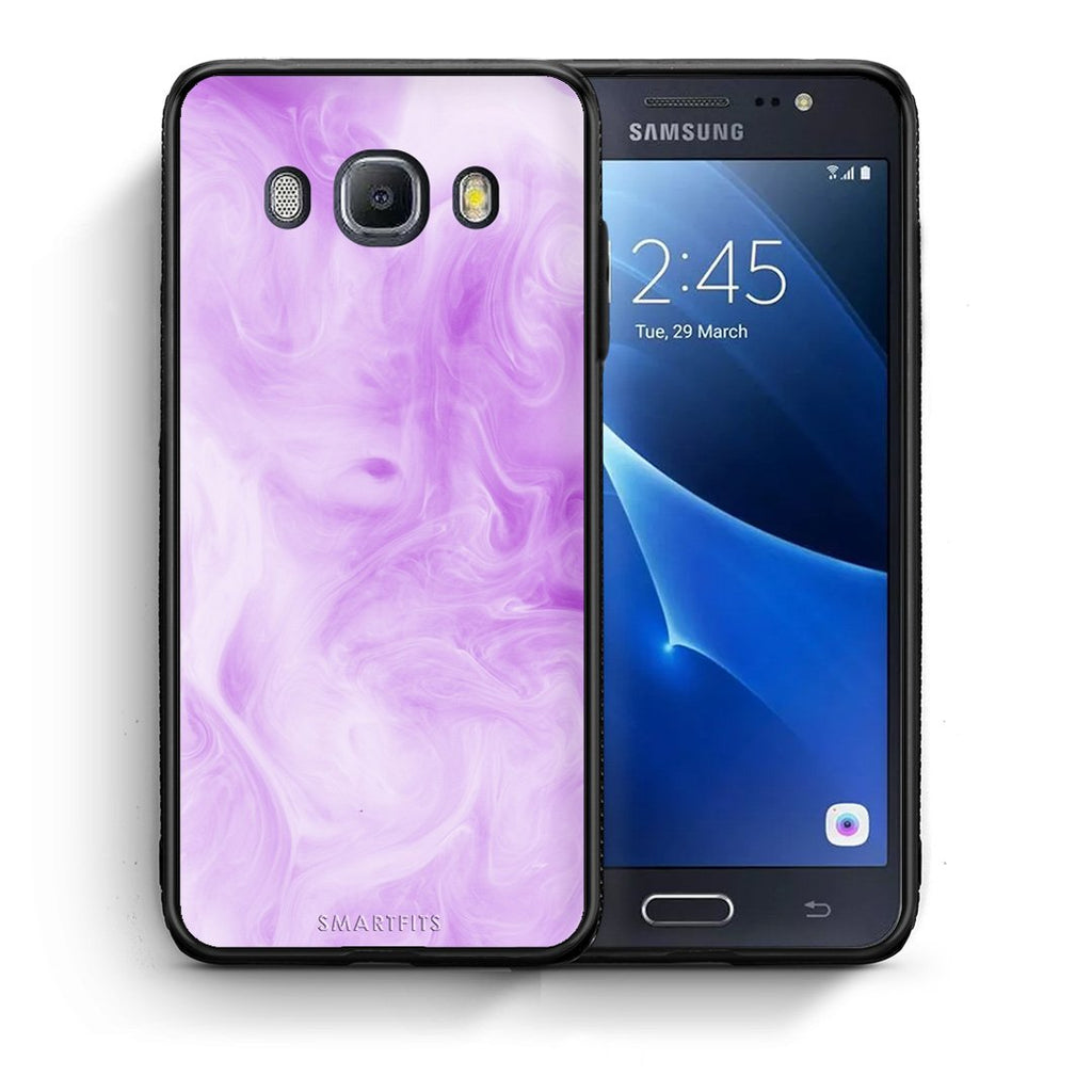 99 - Samsung J7 2016 Watercolor Lavender case, cover, bumper