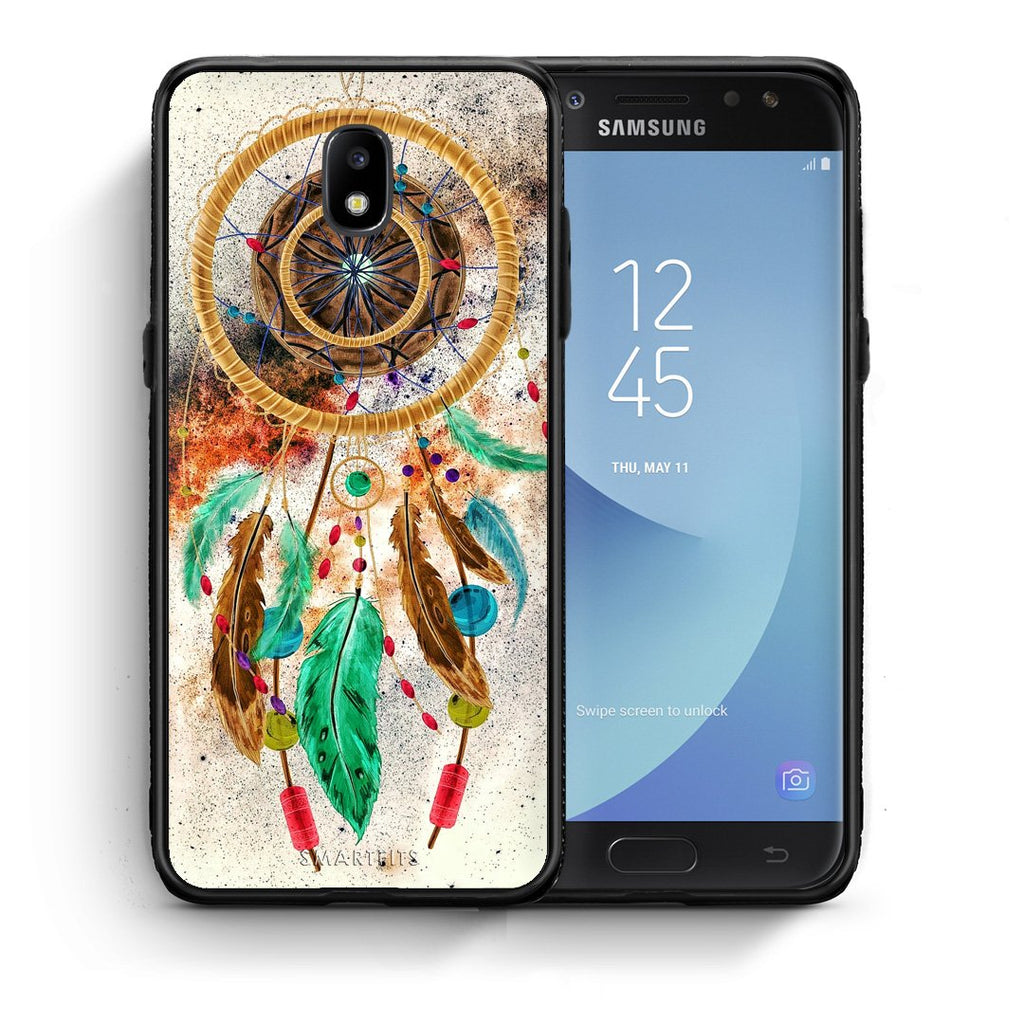 4 - Samsung J7 2017 DreamCatcher Boho case, cover, bumper