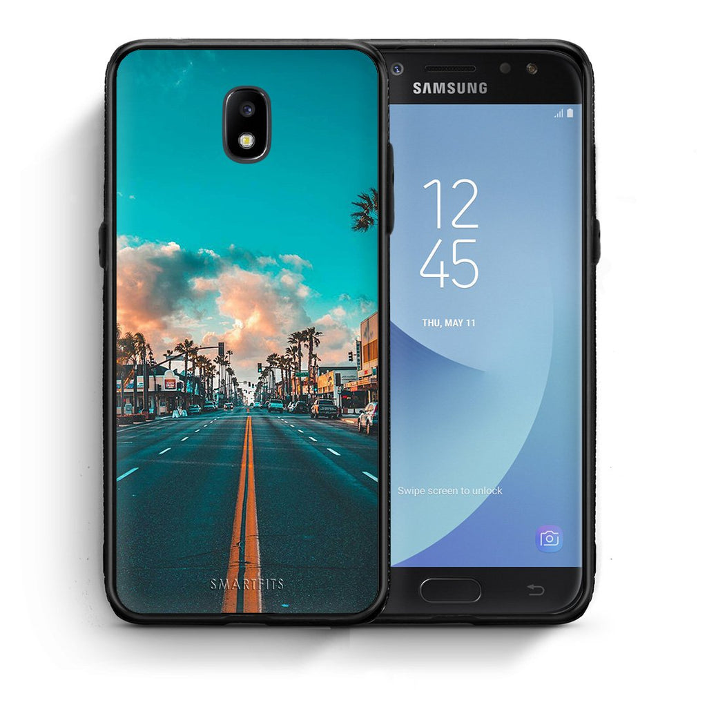 4 - Samsung J7 2017 City Landscape case, cover, bumper
