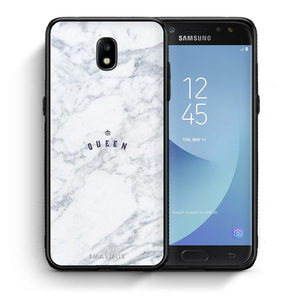 4 - Samsung J7 2017 Queen Marble case, cover, bumper