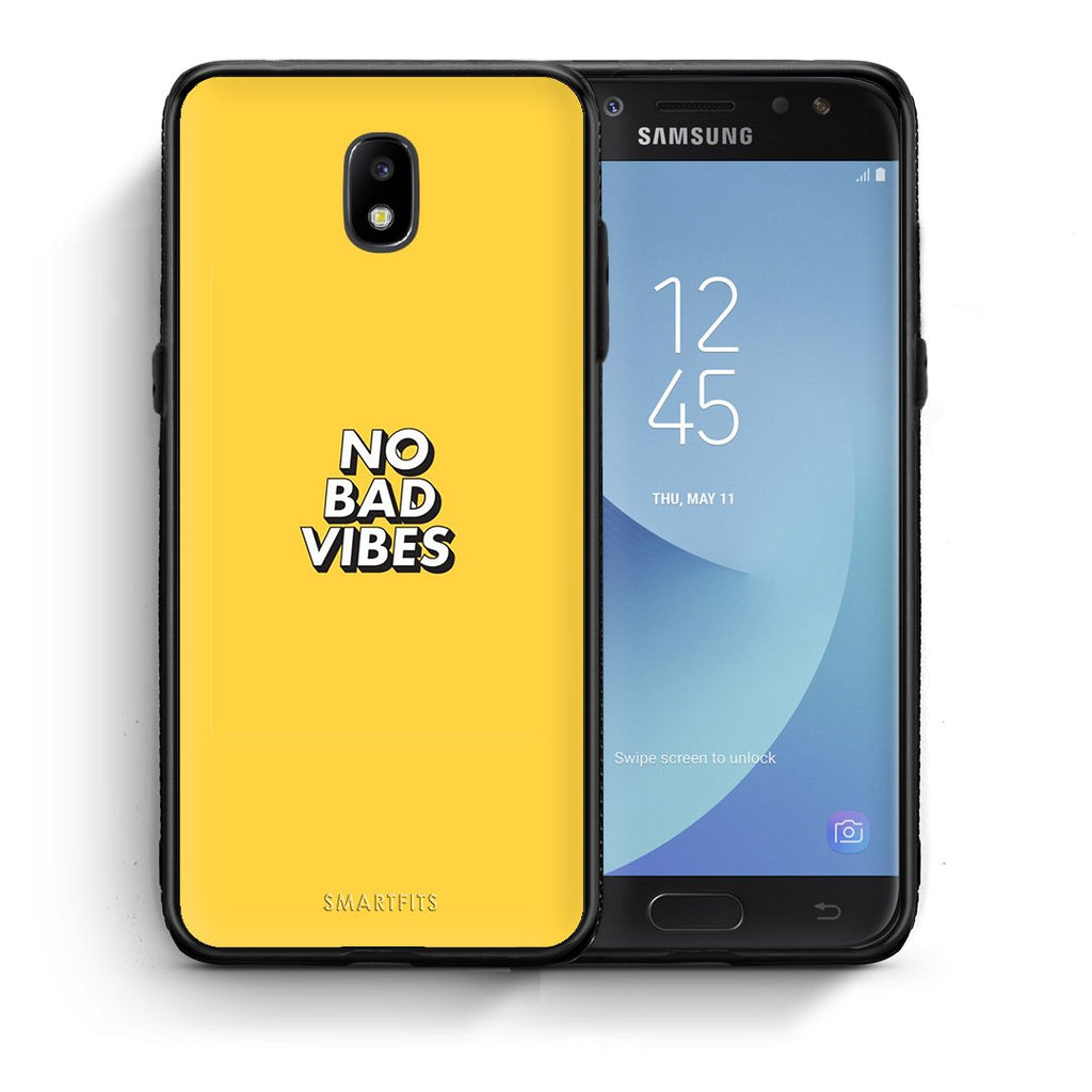 4 - Samsung J7 2017 Vibes Text case, cover, bumper