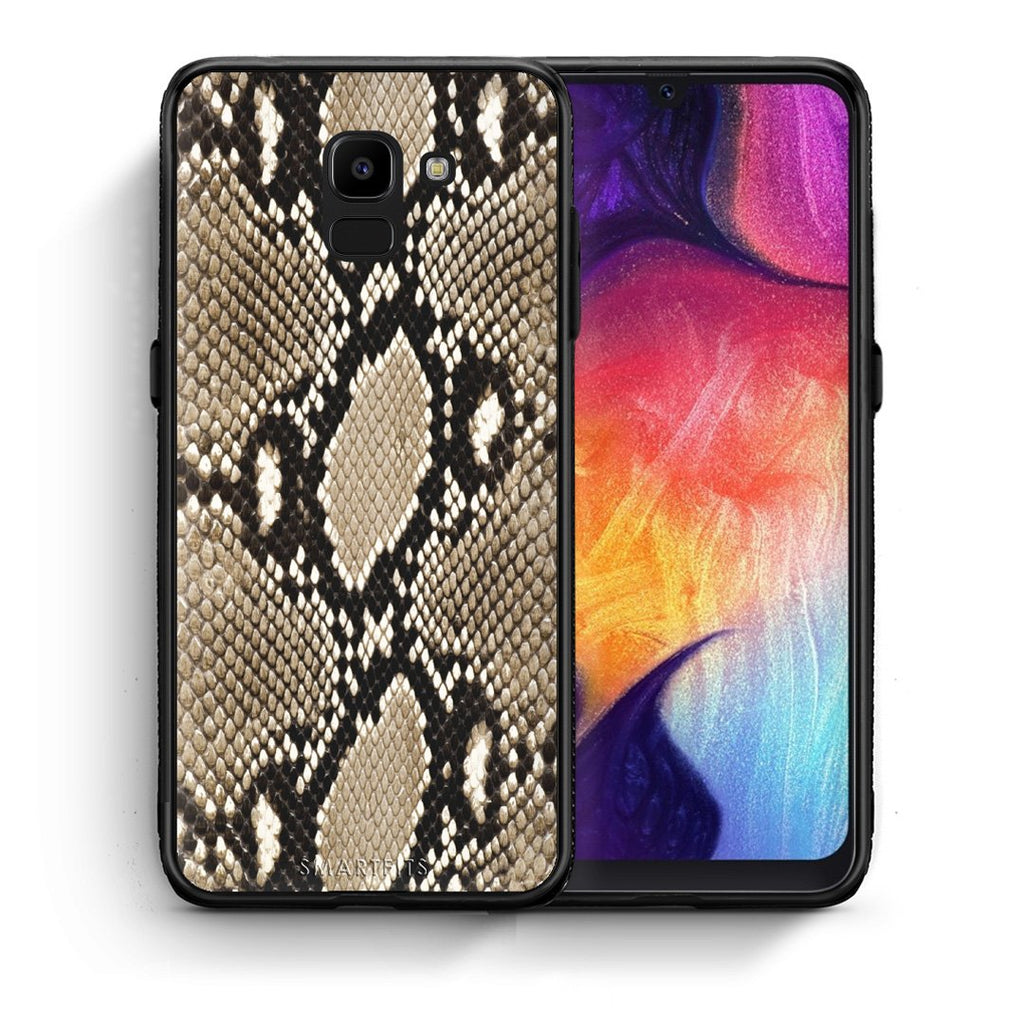 23 - samsung Galaxy J6 Fashion Snake Animal case, cover, bumper