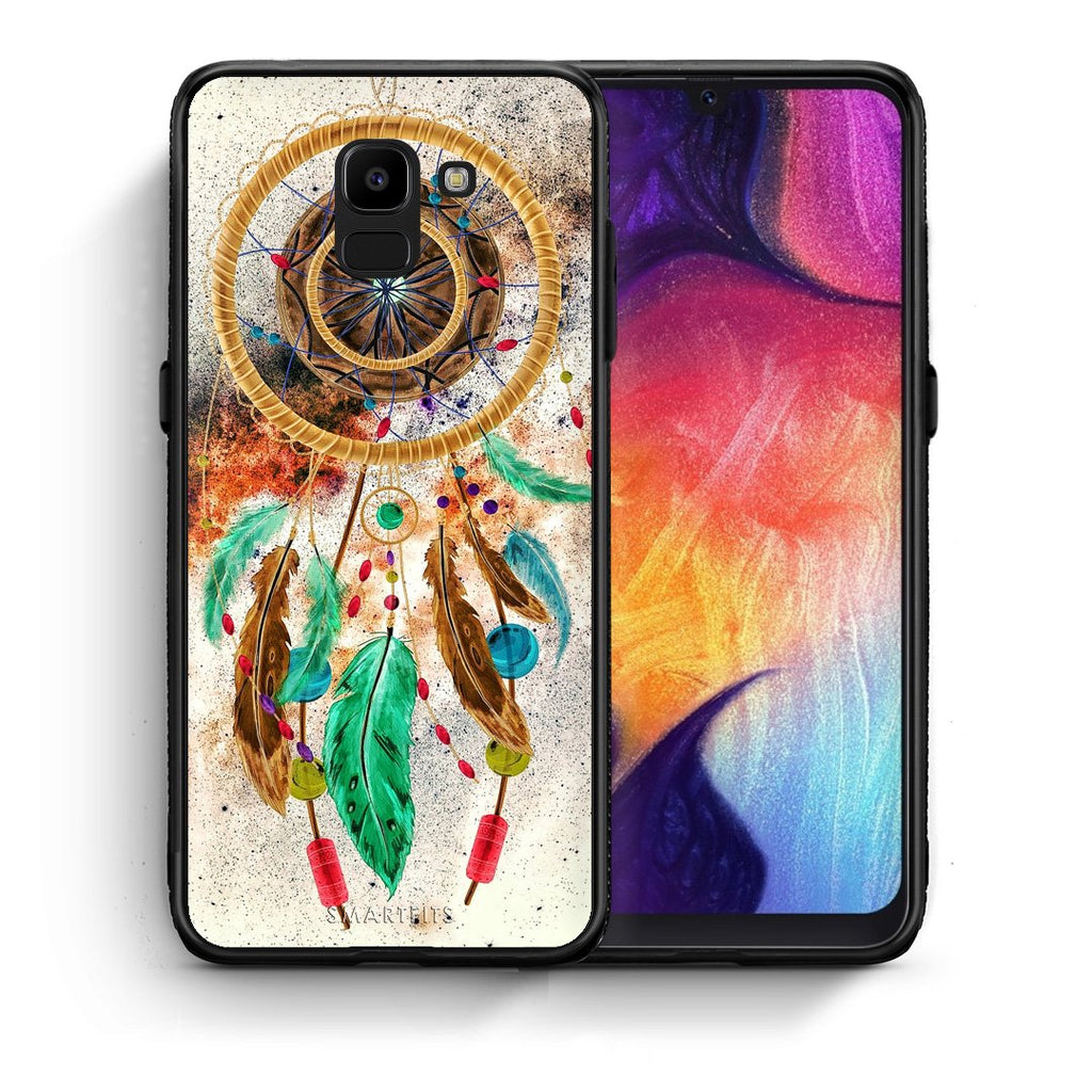 4 - samsung J6 DreamCatcher Boho case, cover, bumper