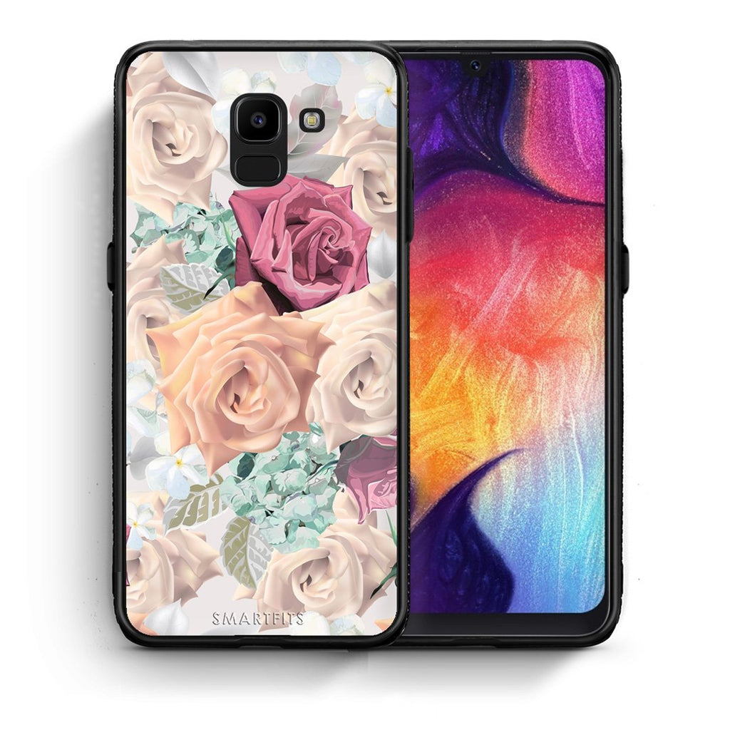 99 - samsung Galaxy J6 Bouquet Floral case, cover, bumper