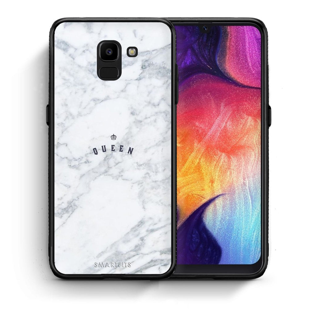 4 - samsung J6 Queen Marble case, cover, bumper