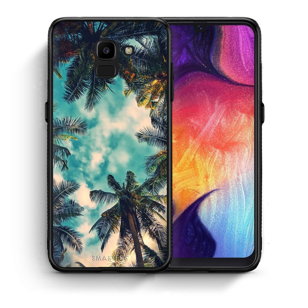 4 - samsung J6 Bel Air Tropic case, cover, bumper
