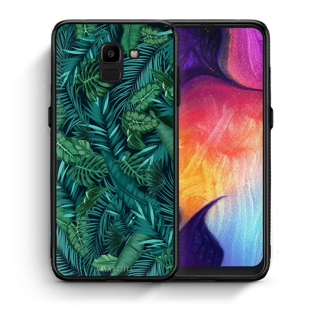 99 - samsung Galaxy J6 Tropic Leaves case, cover, bumper