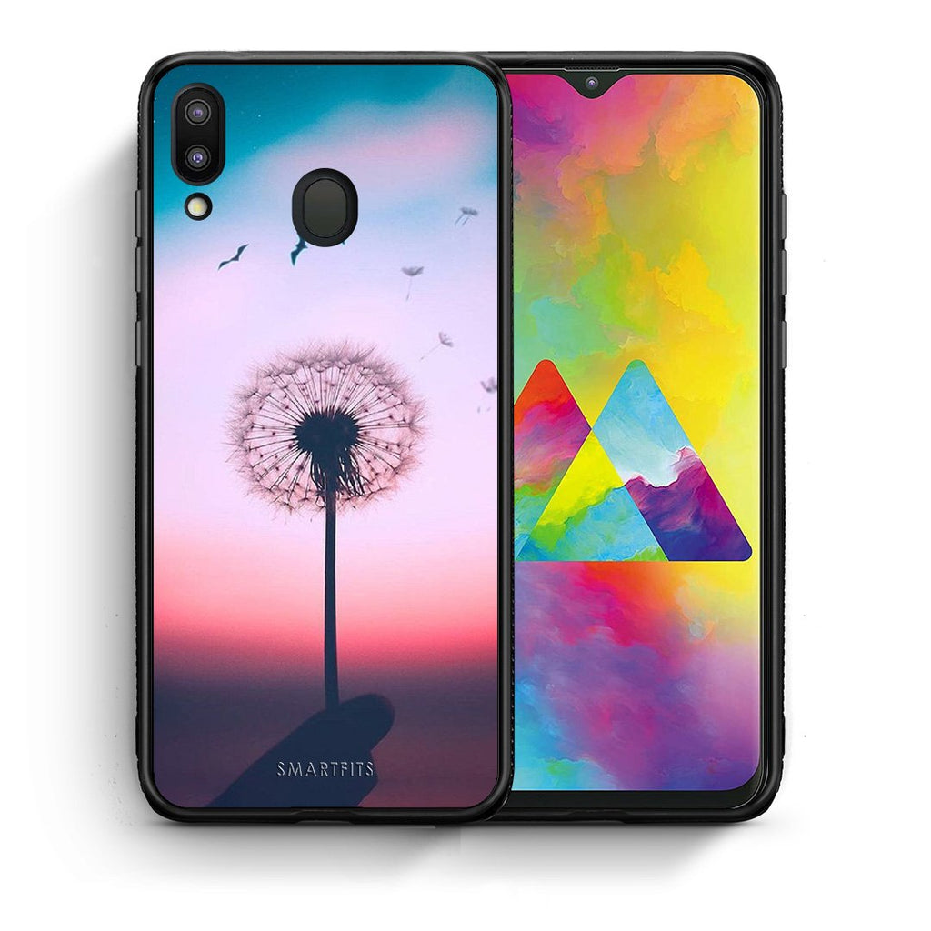 4 - Samsung M20 Wish Boho case, cover, bumper