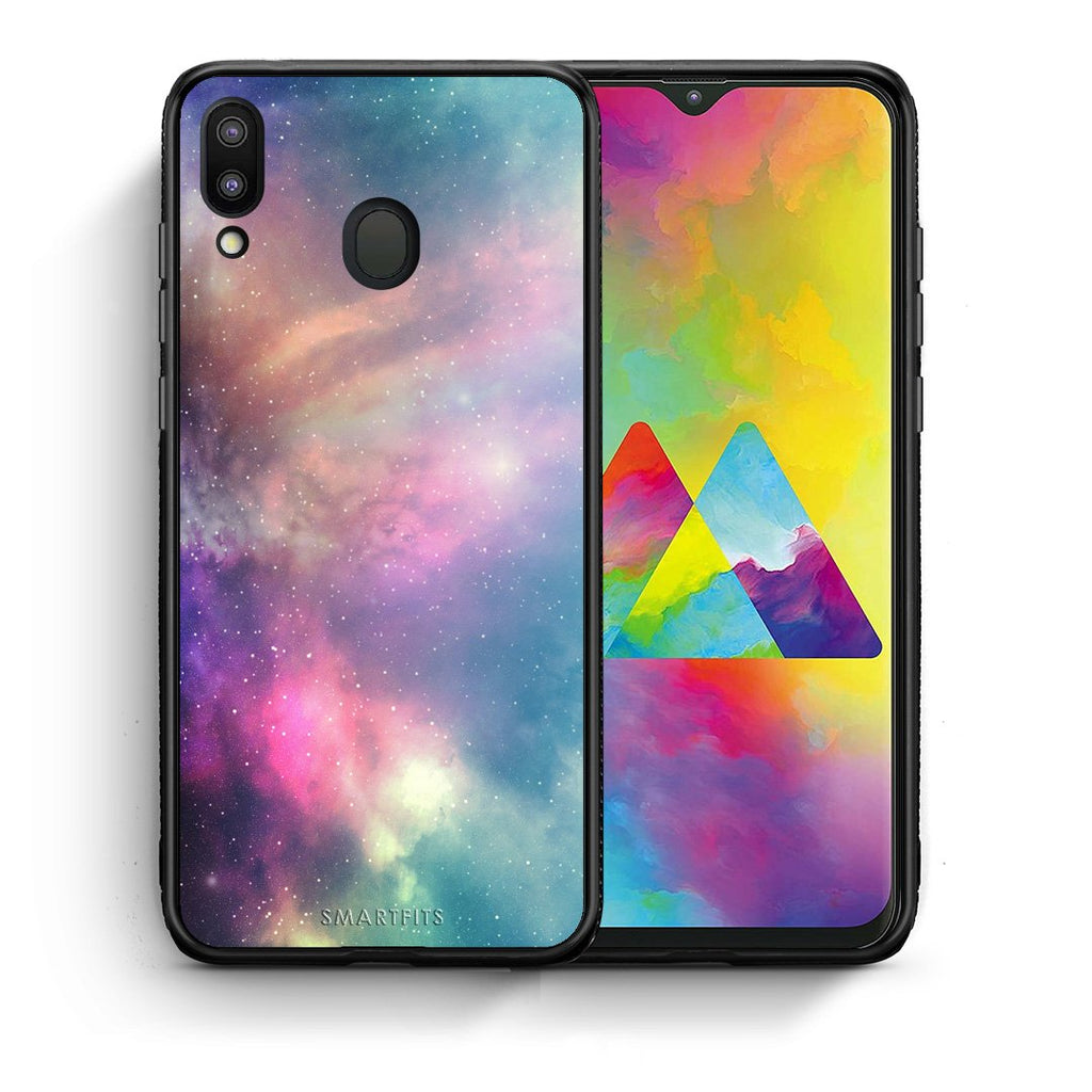 105 - Samsung M20 Rainbow Galaxy case, cover, bumper