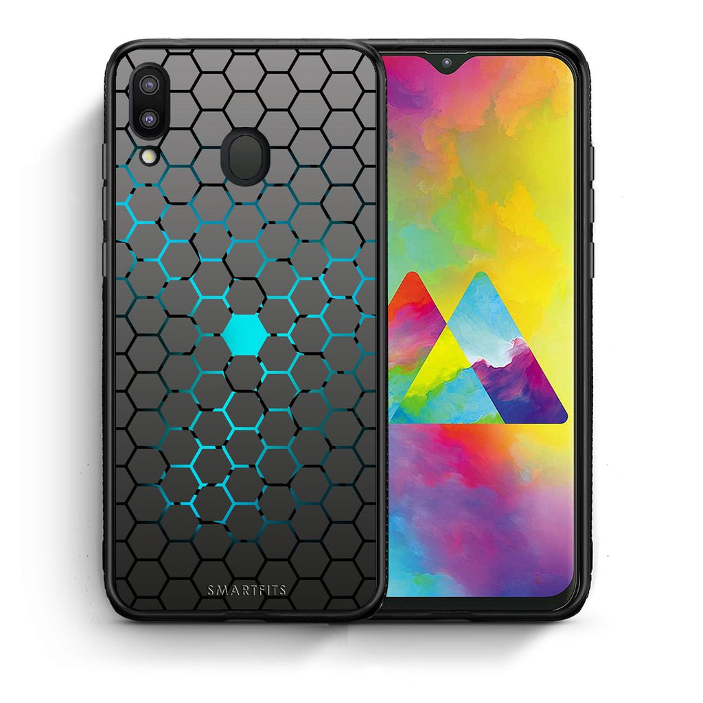 40 - Samsung M20 Hexagonal Geometric case, cover, bumper