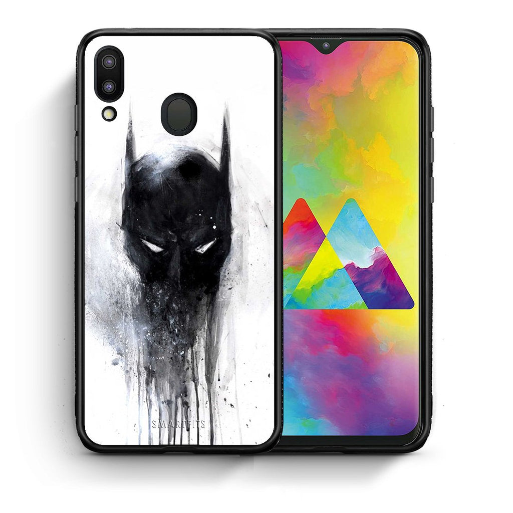 4 - Samsung M20 Paint Bat Hero case, cover, bumper