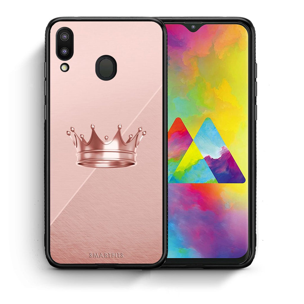 4 - Samsung M20 Crown Minimal case, cover, bumper