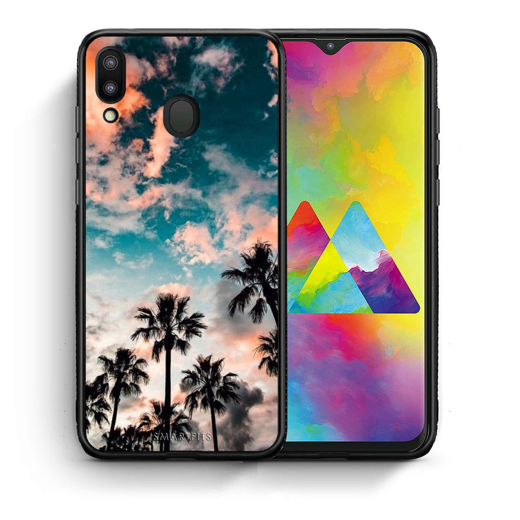 99 - Samsung M20 Summer Sky case, cover, bumper