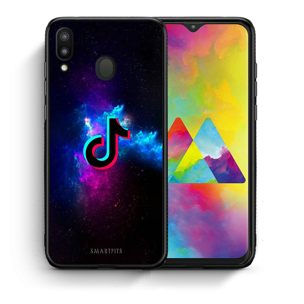 4 - Samsung M20 TikTok Text case, cover, bumper