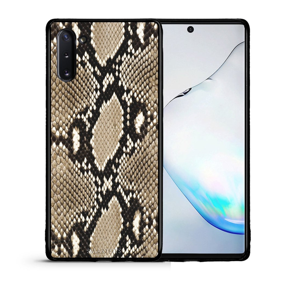 23 - Samsung Note 10  Fashion Snake Animal case, cover, bumper