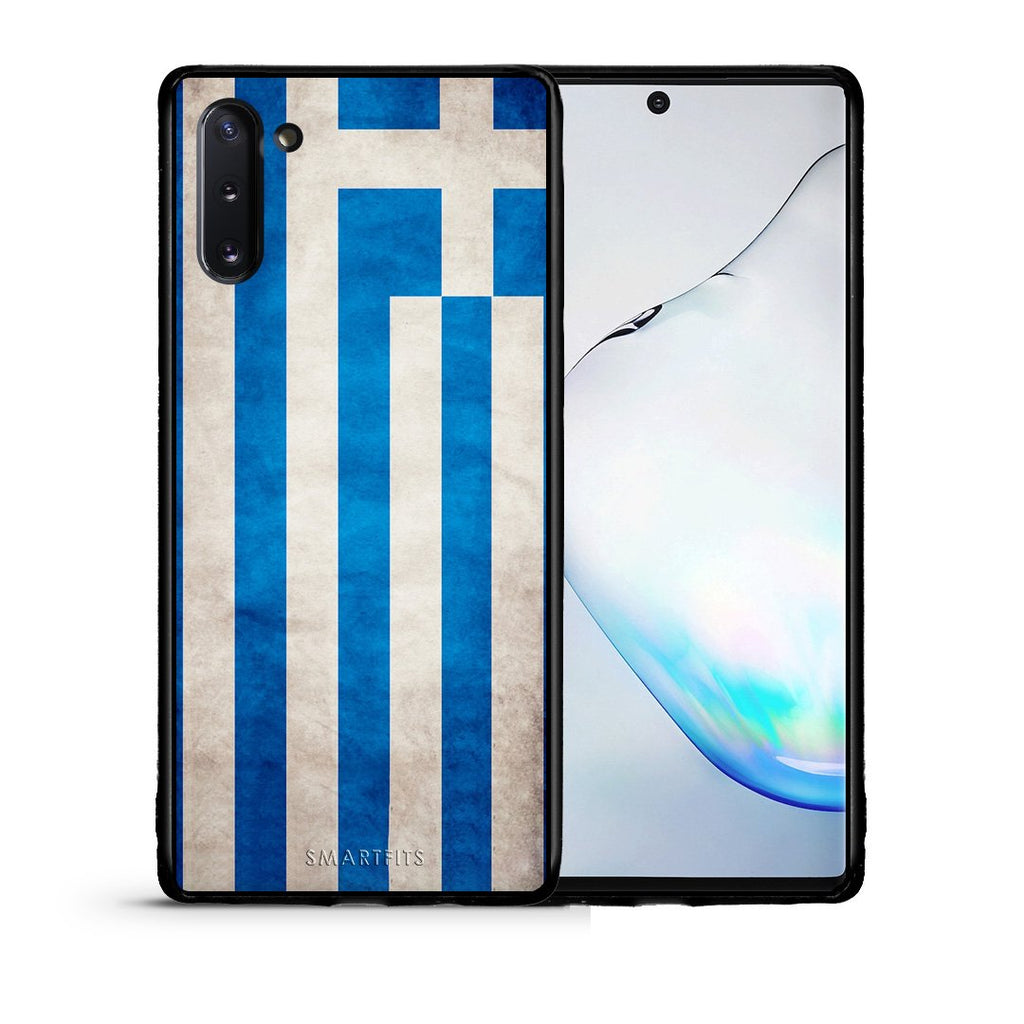 4 - Samsung Note 10 Greece Flag case, cover, bumper