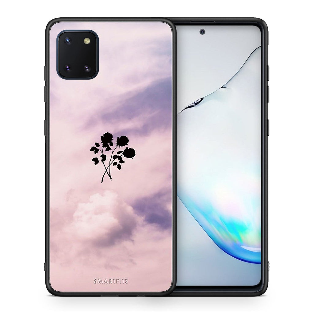 4 - Samsung Note 10 Lite Sky Flower case, cover, bumper