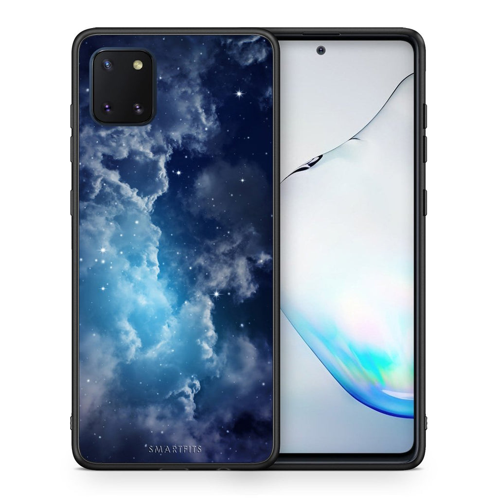 104 - Samsung Note 10 Lite Blue Sky Galaxy case, cover, bumper