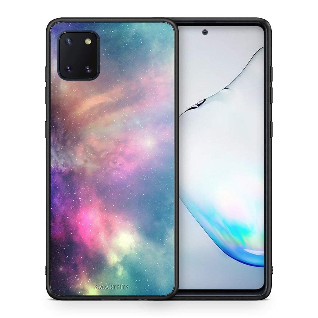 105 - Samsung Note 10 Lite Rainbow Galaxy case, cover, bumper