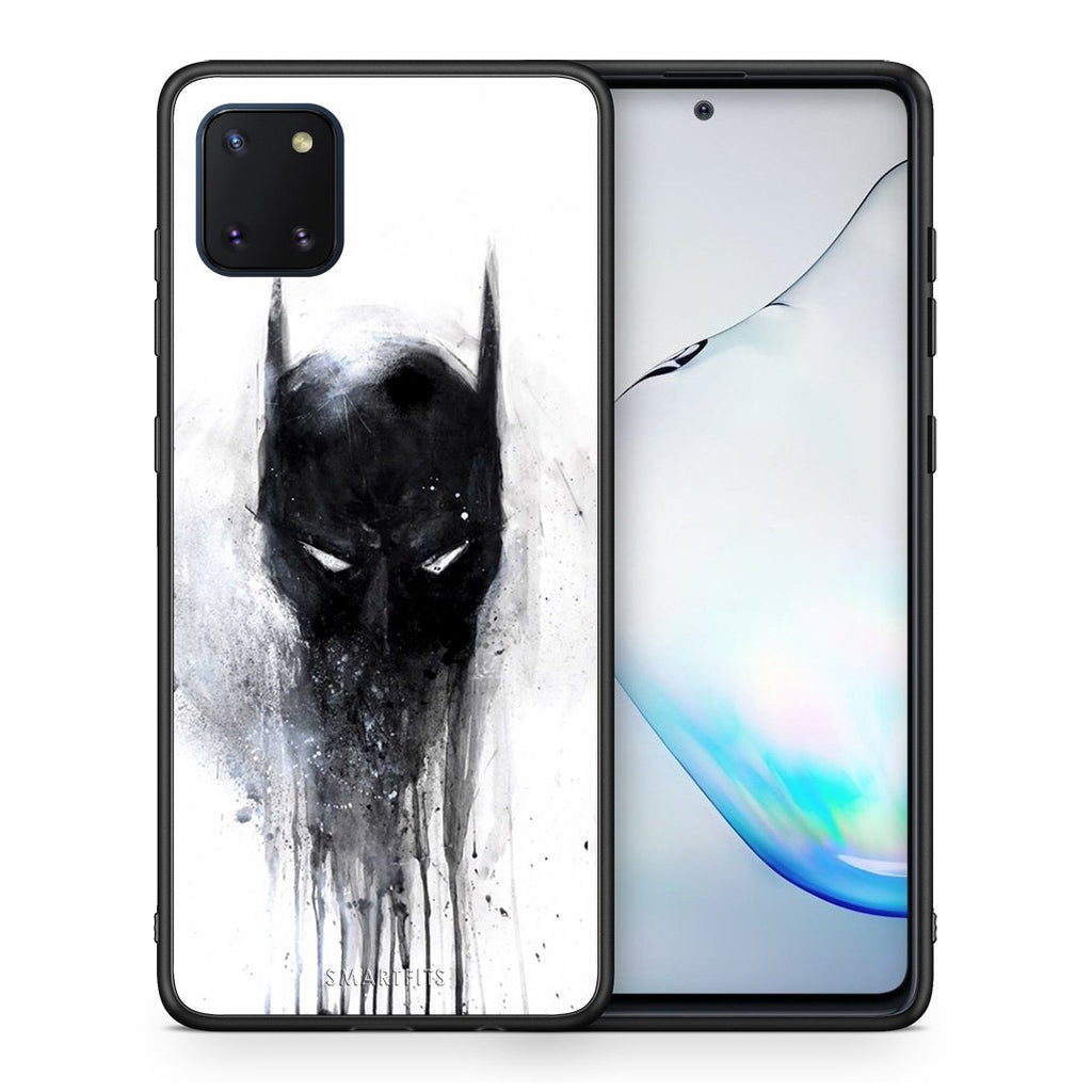 4 - Samsung Note 10 Lite Paint Bat Hero case, cover, bumper
